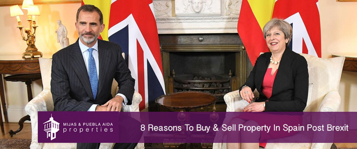 8 Reasons To Buy & Sell Property In Spain Post Brexit